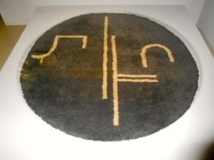 Circular Rug- Eileen Gray