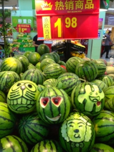 Even the watermelon...monotonous? No way!!!